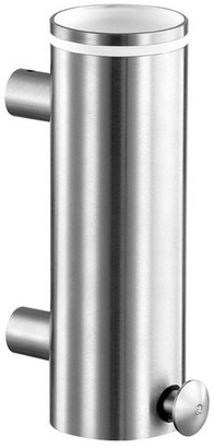 Cool Line Usa Crystal Steel Wall Soap Dispenser, Satin