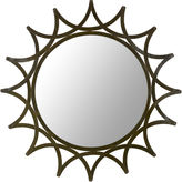 Asstd National Brand New Mayan Star Round Wall Mirror
