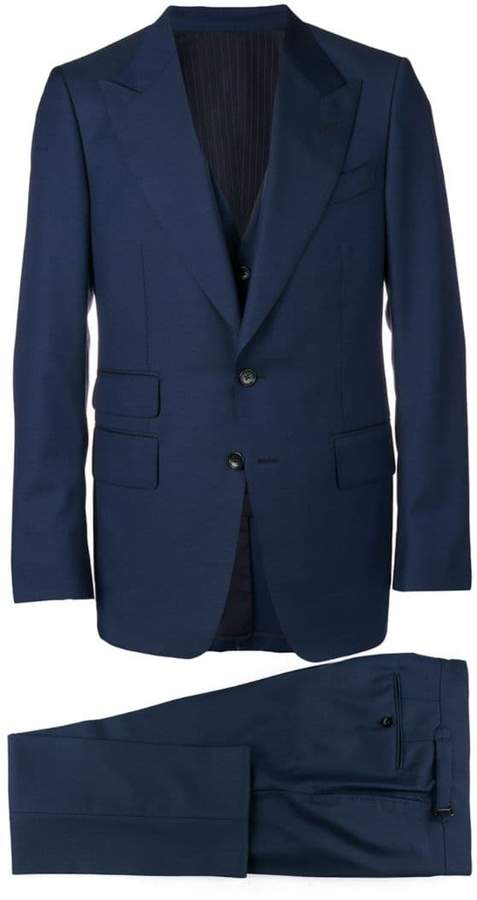 Tom Ford three-piece formal suit
