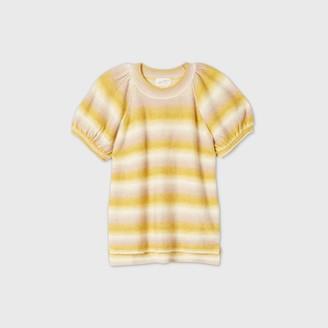 Universal Thread Women's Short Sleeve Crewneck Pullover Sweater - Universal ThreadTM