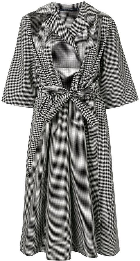 Sofie D'hoore Dijou gingham shirt dress