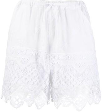 Temptation Positano Montevideo lace shorts