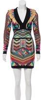Balmain Tribal Mini Dress