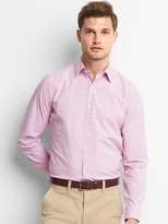 Gap Poplin shadow plaid shirt