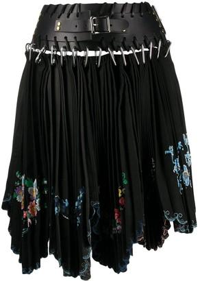 Chopova Lowena Embellished Pleated Skirt