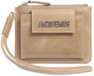 Jacquemus Le Porte Olive Leather Coin Purse