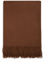 A & R Cashmere Cashmere Blend Waffleweave Throw