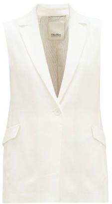 Max Mara S Hamburg Jacket - Womens - White