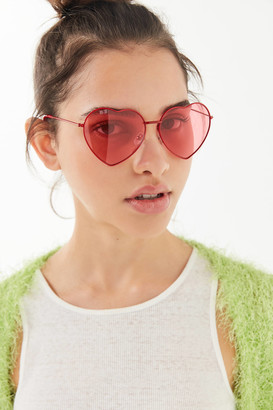 Metal Heart Sunglasses