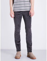 Ps By Paul Smith Grey Concealed Zip Jeans