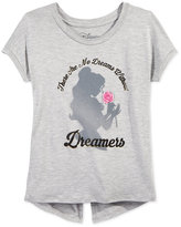 Disney Disney's® Beauty and the Beast Graphic T-Shirt, Big Girls (7-16)