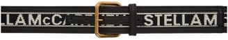 Stella McCartney Black Logo Band Belt
