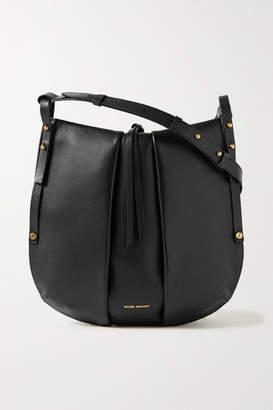 Isabel Marant Lecky Leather Shoulder Bag - Black