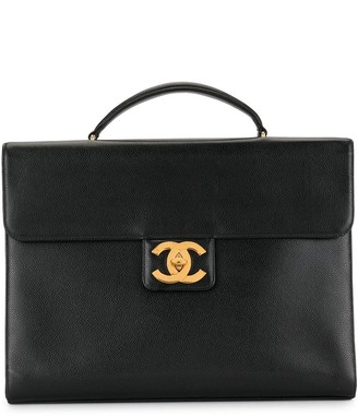 Chanel Pre-Owned 1998 CC turn-lock briefcase