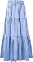 P.A.R.O.S.H. long tiered skirt