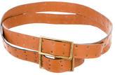Chloé Leather Wraparound Belt