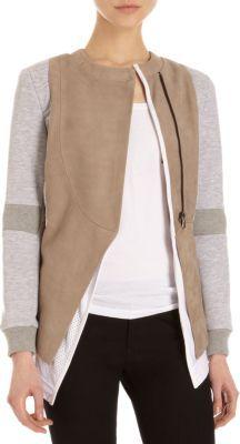 Leon Francis Combo Jacket