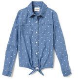 Cherokee Tie Front Shirt