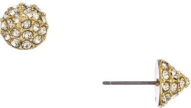 Blu Bijoux Crystal Spike Stud Earrings