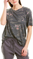 Monrow Camo Oversized T-Shirt