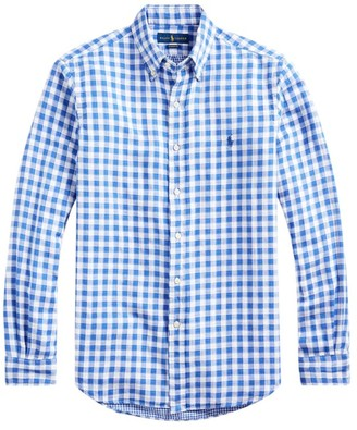 Polo Ralph Lauren Classic-Fit Gingham Shirt
