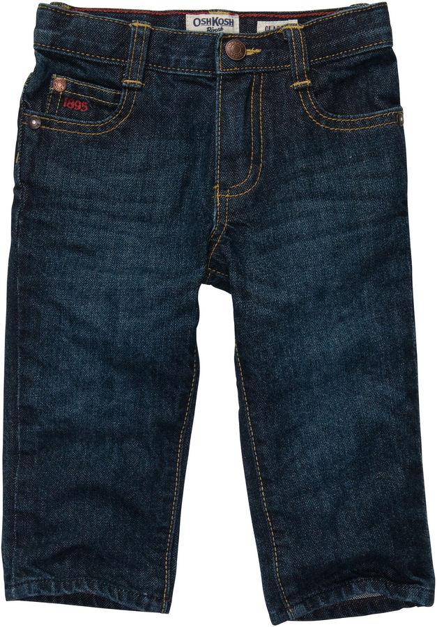 Osh Kosh Oshkosh Classic Jeans-Rail Tie True Blue Wash