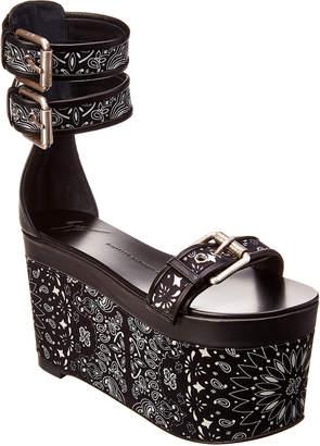 Giuseppe Zanotti Leather Platform Sandal