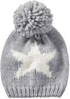 Joe Fresh Kid Girls' Knit Winter Hat, Pink (Size L/XL)