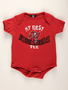 Motherhood Tampa Bay Buccaneers Newborn Baby Bodysuit