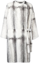 Christopher Kane reversible mink fur coat