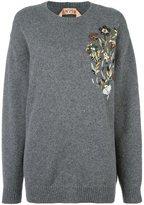 No.21 sequin embellished jumper