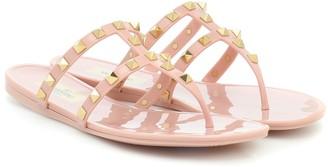 Valentino Rockstud PVC sandals