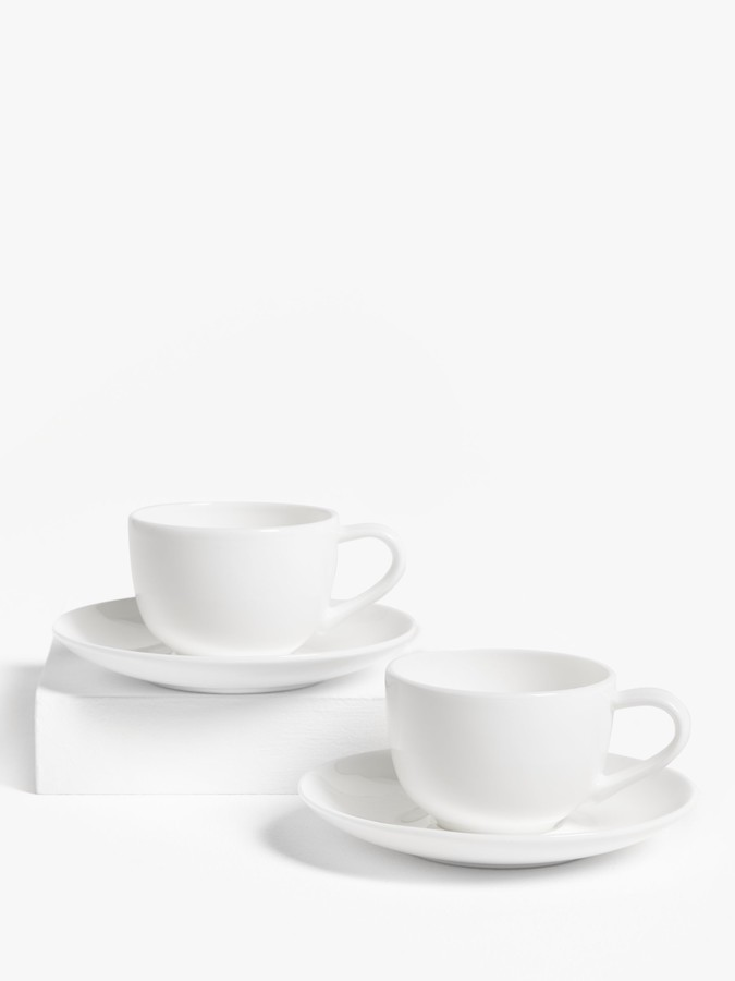Denby Studio Grey Espresso Coffee Cups, Set of 2, 100ml