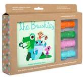 BRUSHIES Book & Finger Puppet Toothbrush Gift Set