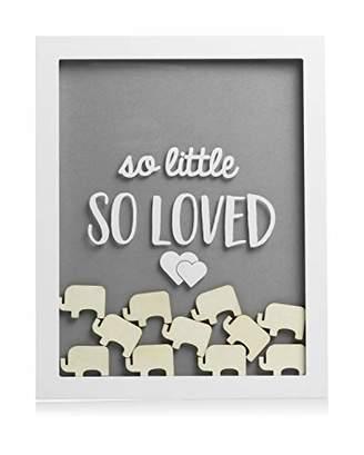 Pearhead Little Wishes Elephant Signature Frame, Multi-Colour, 1.52 kg