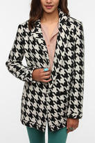 Sparkle & Fade Houndstooth Coat