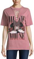 Freeze Minnie Mouse Graphic T-Shirt- Juniors