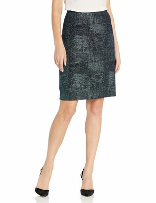 Nine West Women's Metallic Knit Skirt