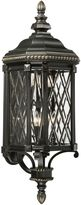 The Great Outdoors® by Minka-Lavery® Bexley Manor Outdoor Wall-Mount Sconce in Black/Gold