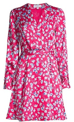 Equipment Collie Floral Shirt Dress