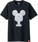 Uniqlo Men Mickey 100 Short Sleeve Graphic T-Shirt