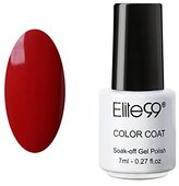 Qimisi Soak Off UV LED Color Gel Polish Lacquer Nail Art Manicure 7ml 1337 Blood Red
