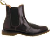 Dr. Martens Women's Burgundy Leather Kensington Chelsea Boots, Size: 6