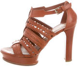 Tod's Laser Cut Caged Sandals