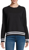 Rag & Bone Classic Varsity Pullover, Black