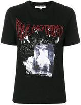 McQ fear nothing print T-shirt