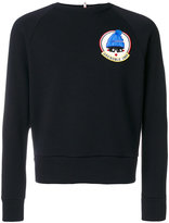 Moncler chest patch sweater