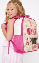 PrettyLittleThing Disney Princess Cream Double Backpack
