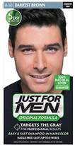Just For Men Original Formula Men's Hair Color, Darkest Brown (Packaging May Vary)