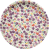 Emma Bridgewater Wallflower Deepwell Round Tray, Multi